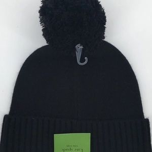 kate spade Accessories - Kate Spade have a nice day beanie winter hat